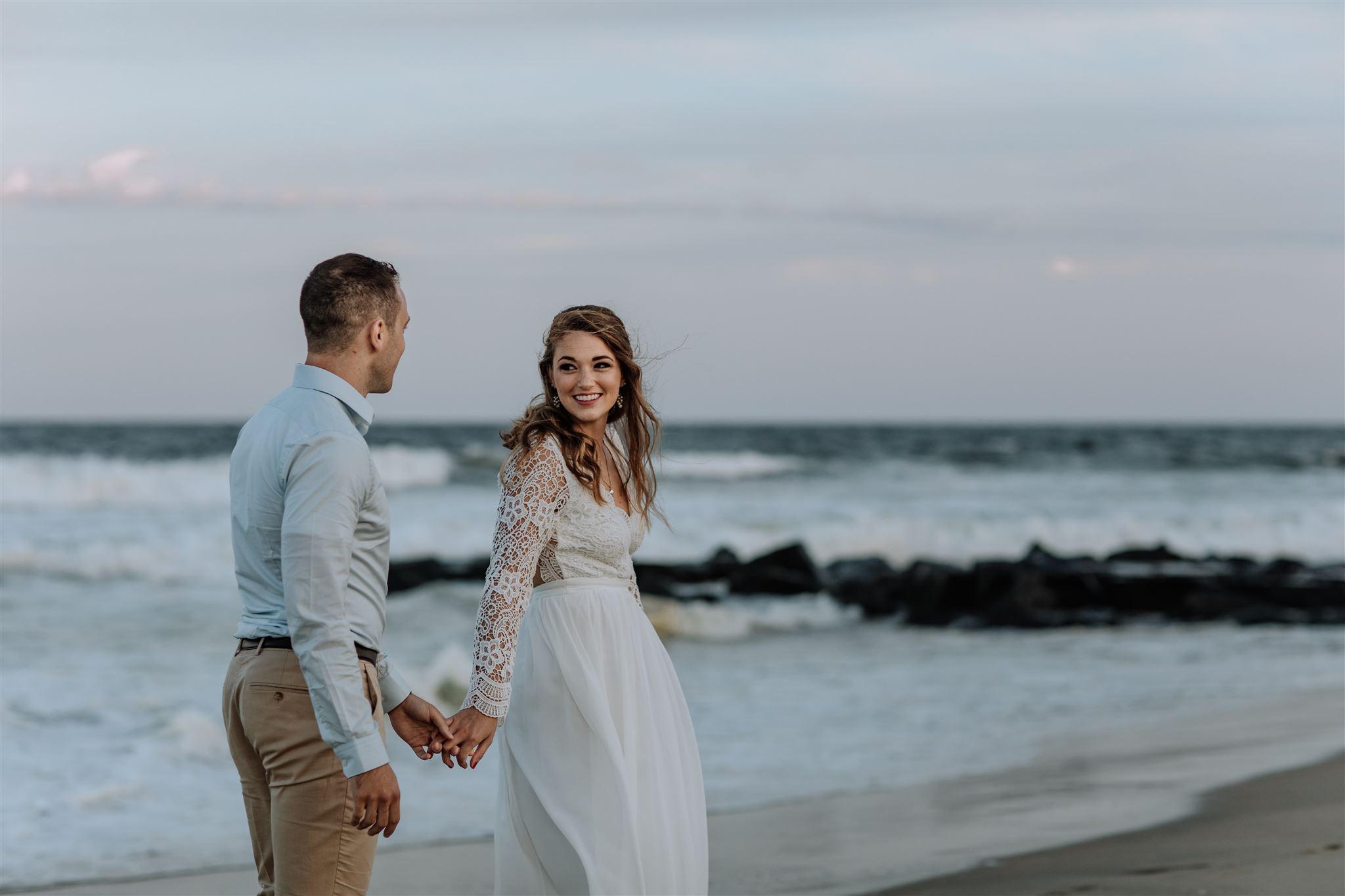 Couples beach Nuptial nudity: